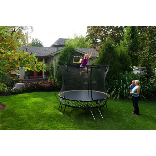 Springfree 8ft Compact Round Trampoline & Safety Net