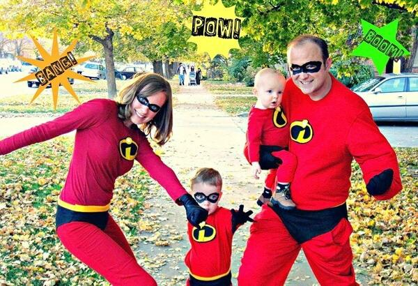 Family Halloween Fun