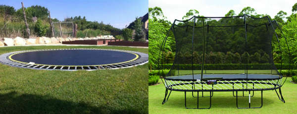 Inground Trampolines Vs Above Ground Trampolines Resized