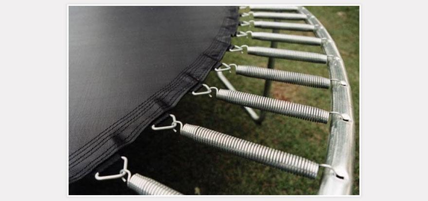 Springbased Trampoline Exposed Frame