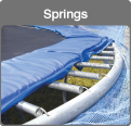 Traditional trampoline springs