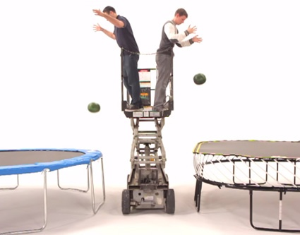 Trampoline Safety Watermelon
